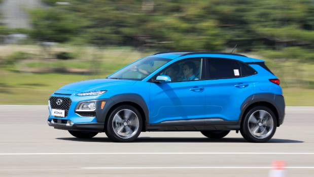 Kona is shorter than both Toyota C-HR and Mazda CX-3, but Hyundai claims it has more cabin space than either.