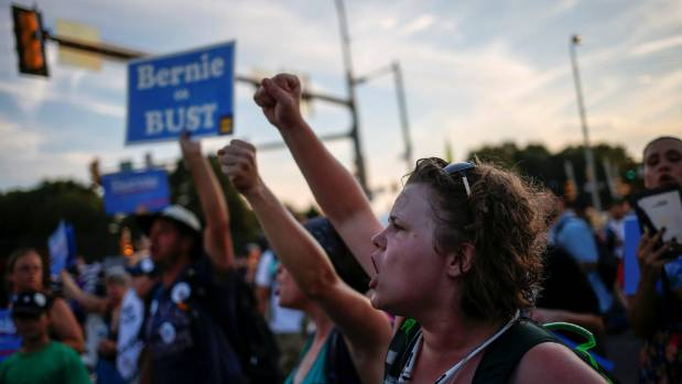 Bernie Sanders is the answer for this young voter.