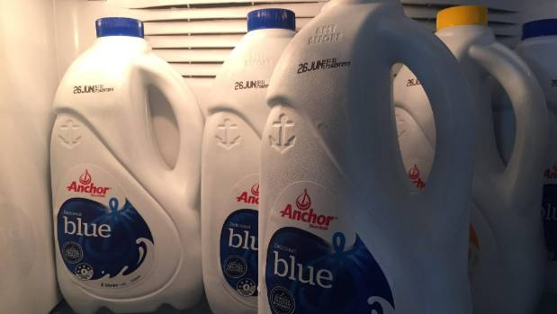 Fonterra recalled this batch of 'blue top' milk with best before dates between June 21 and June 27.
