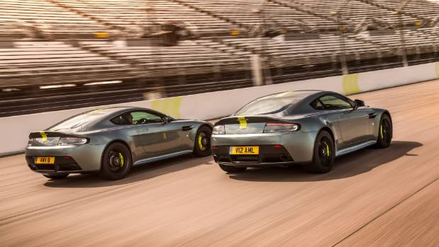 Aston Martin will farewell to its Vantage sports car with two models inspired by racing success at Le Mans.