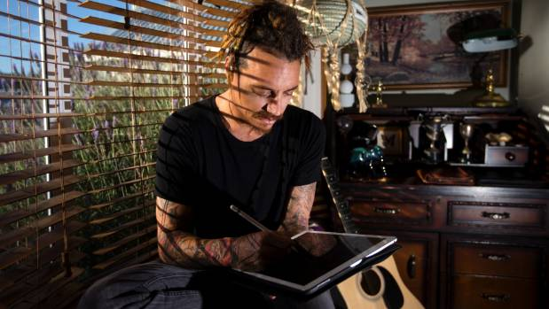 Tattoo artist Paul Gledhill's passion for art began when he was younger and encouraged by his creative grandfather.