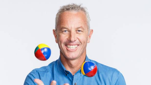 The Block NZ host Mark Richardson is used to juggling his various television roles.