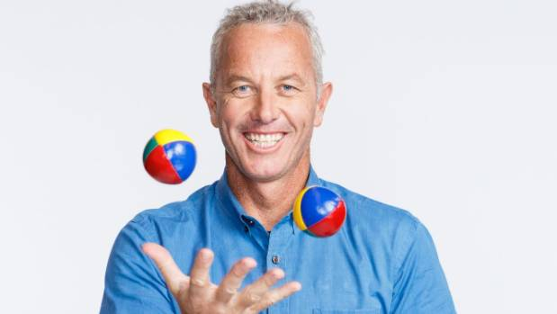 Richardson is currently juggling more than a few balls in the air for MediaWorks.