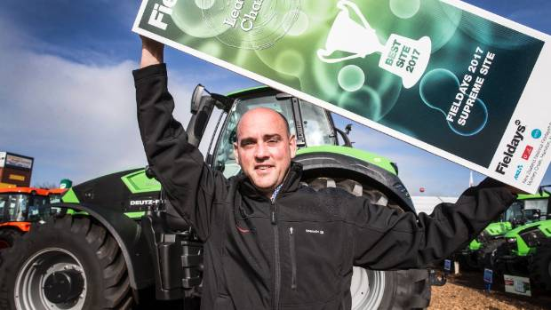 Power Farming's marketing director Brett Maber believed it had been a great Fieldays from a sales perspective.