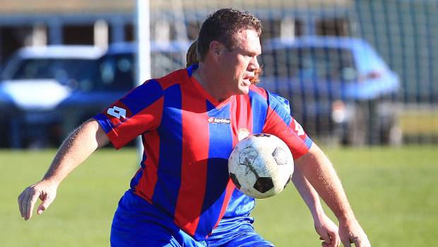 Marlborough Football chairman Peter Mortimer in action. (File photo)