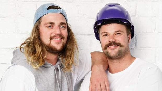 Levi Inglis (Ling), a suspended ceiling installer with his older brother Zach (Zing), an electrician.