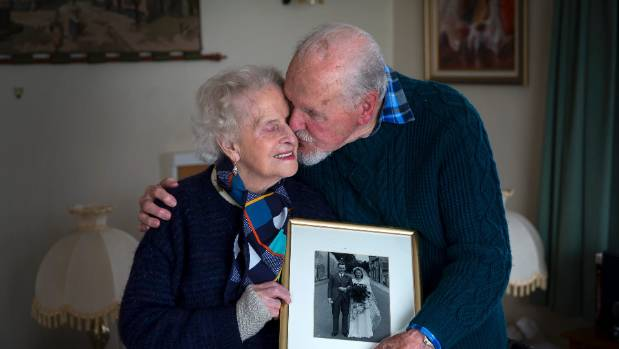 Feilding couple Cyril and Beryl Norris will celebrate their 75th wedding anniversary on June 27.