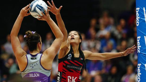 Temalisi Fakahokotau shows her commitment during a game against the Northern Stars.