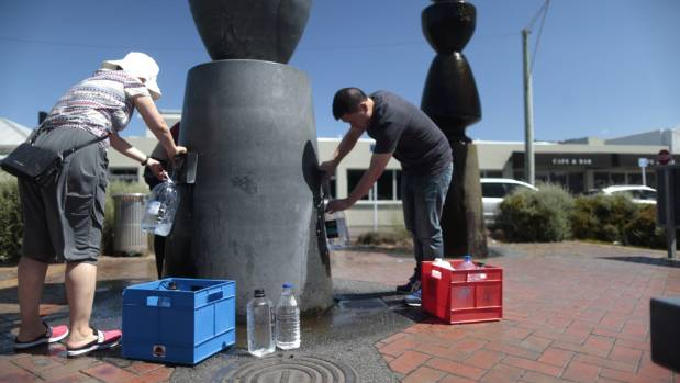 Untreated water should soon be available from the Buick St fountain in Petone.