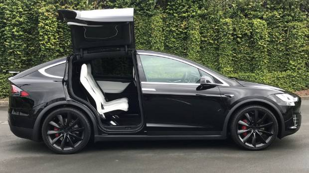 Hard to see the sense in Falcon doors. But they do add sci-fi desirability to the Model X.