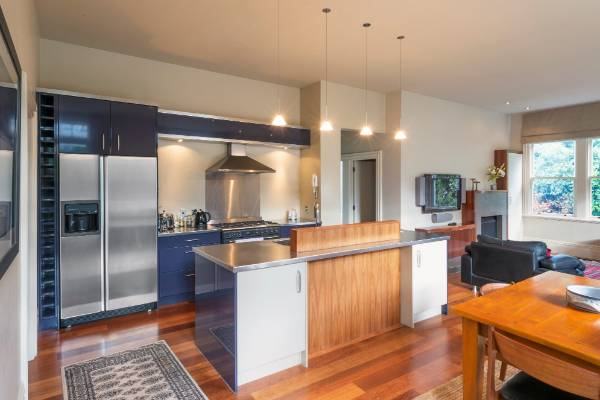 The 113-year-old house has been fully renovated.