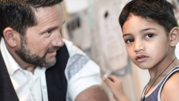 New Zealander of the Year Dr Lance O'Sullivan works with children like 3-year-old Luke every day.