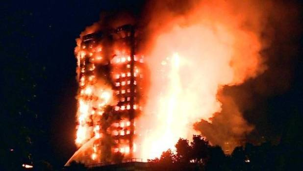 Firefighters spoke of their shock as they headed towards the 27-storey Grenfell Tower ablaze in west London.