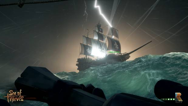 Dynamic storms and lighting strikes make navigating the high seas perilous for ships that will quickly sink if they take ...