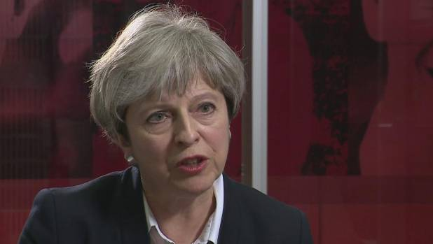 British PM Theresa May has been widely condemned for her response to the disaster.