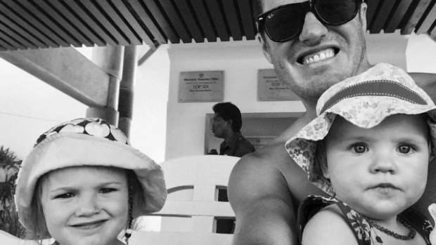 Cory Bellringer and daughters Isla, 3, and Ellie, 1, were all struck down by a mystery illness on holiday in Fiji.