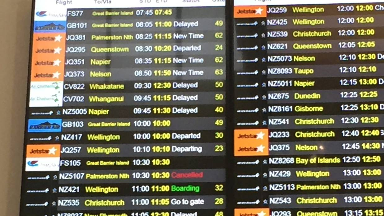 How fog causes flight delays and cancellations | Stuff co nz
