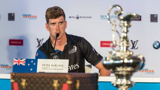Burling, Kiwis beat Oracle third time in America's Cup