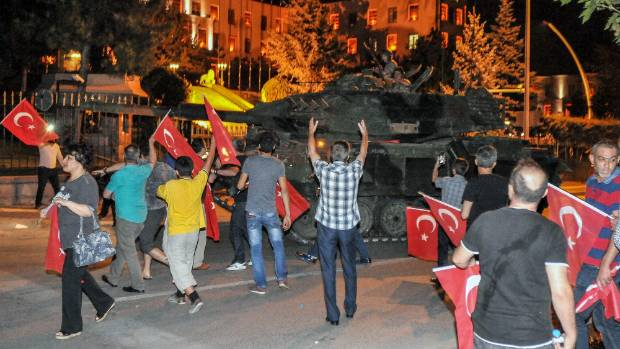 When President Recep Tayyip Erdogan stared down an attempted military coup last year, he likened his triumph to the ...