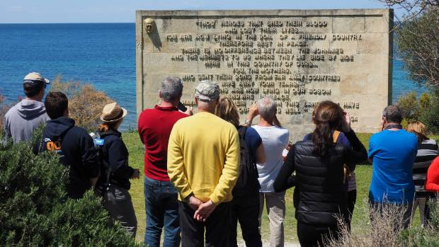 Every visitor to Gallipoli Peninsula knows the famous Ataturk Memorial at the north end of Anzac Cove.