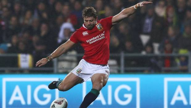 Fullback Leigh Halfpenny appears to be at the top of the totem pole after producing a faultless goalkicking display.