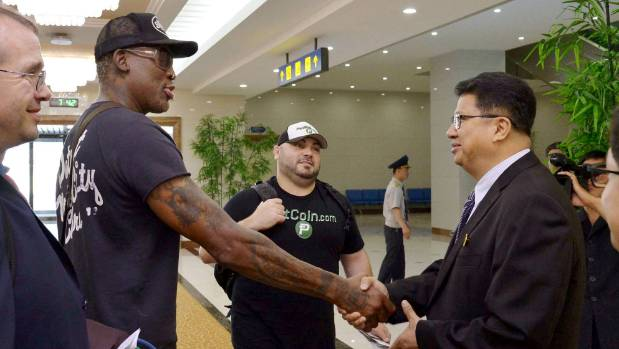 Rodman Returns From 'Really Good' North Korea Trip