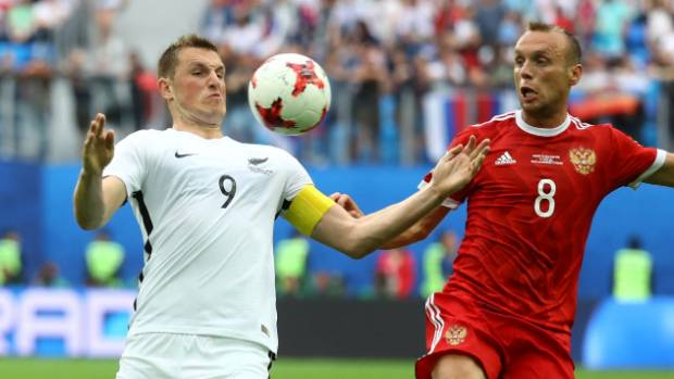 The 8 teams contesting the Confederations Cup in Russia
