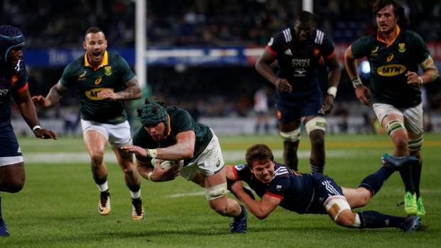 South Africa beat France in Durban to secure series win