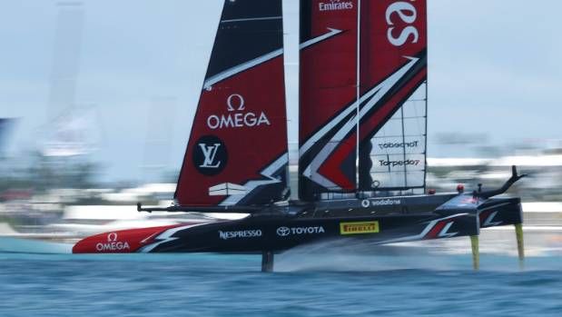 A virtual reality camera was among the New Zealand developed technology on board the Emirates Team New Zealand yacht.