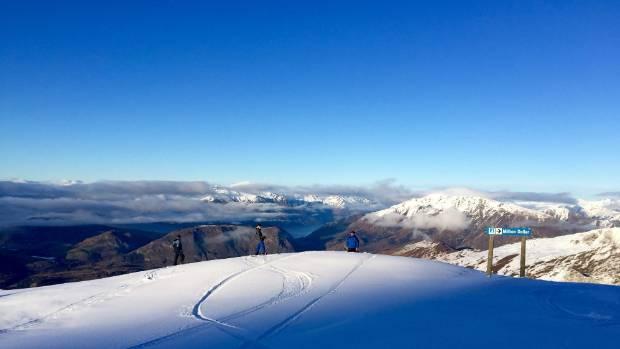 Coronet Peak ski area.