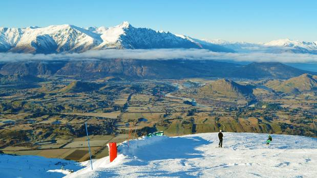 The view from Coronet Peak.