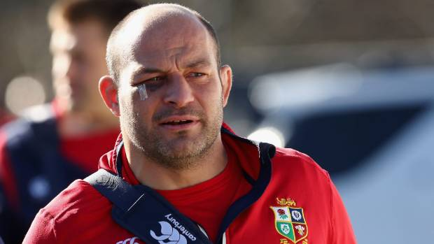 Lions captain for the Chiefs game, Rory Best.