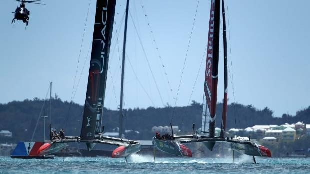 Team New Zealand have the chance for two more wins against Oracle Team USA on Monday morning.
