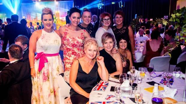 Donna Dawson, Cherie Rhind, Debi Rush, Mary-Jayne Johnstone, Vicki Henderson, Nicola Evans, Tara Lawlor, and Paula ...