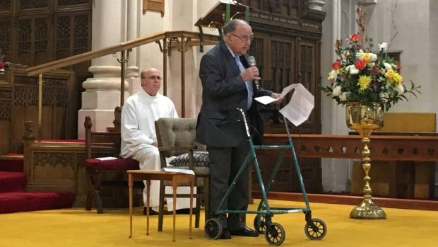 St Mary's Church Restoration Trust chairman Ray Bennett outlines how the improvements to the church were made.
