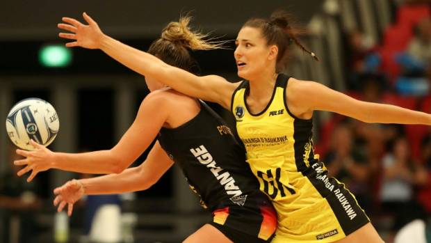 Karin Burger was on form for Central in the national league final.