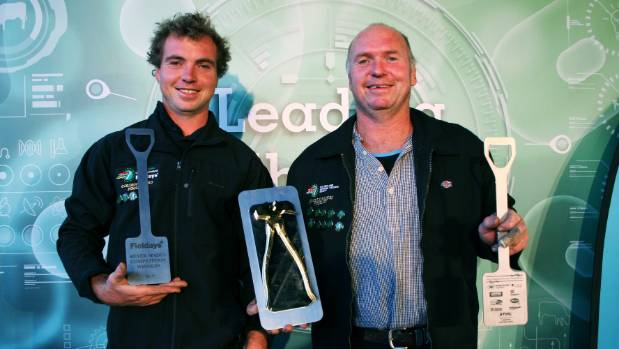 Tony and Shane Bouskill of Hawke's Bay win the 2017 Silver Spades competition for the first time as a duo and are only ...