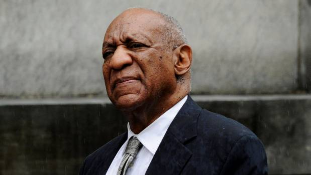 Actor and comedian Bill Cosby departs after a judge declared a mistrial in his sexual assault trial at the weekend.