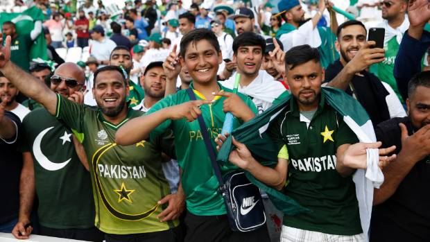 Pakistan fans are overjoyed by the win over arch-rival India.