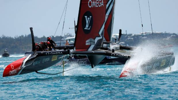 After two more wins over Oracle, Team New Zealand extended their lead to 3-0 in the battle for the America's Cup.