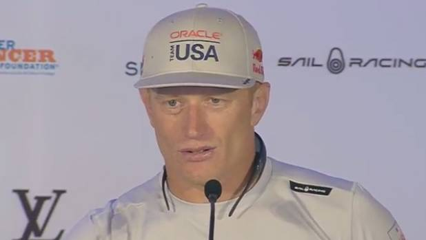 Oracle Team USA skipper Jimmy Spithill admits Team NZ have the faster boat.