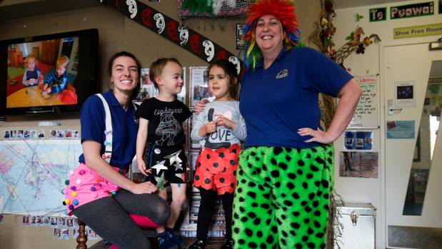 Kids and teachers in shorts at Active Explorers Viictoria Ave childcare centre promoting the winter solstice Shorts for ...