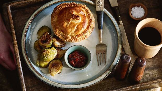 Red braised brisket pie is a great take on the classic mince pie.