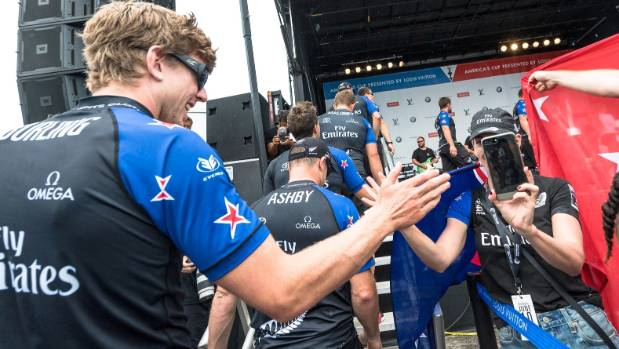 Team New Zealand helmsman Peter Burling is proving a popular figure in Bermuda as he leads the Kiwi charge in the ...