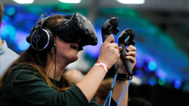 Showing virtual reality experiences on flat screens doesn't give people a good enough taste of how different the ...