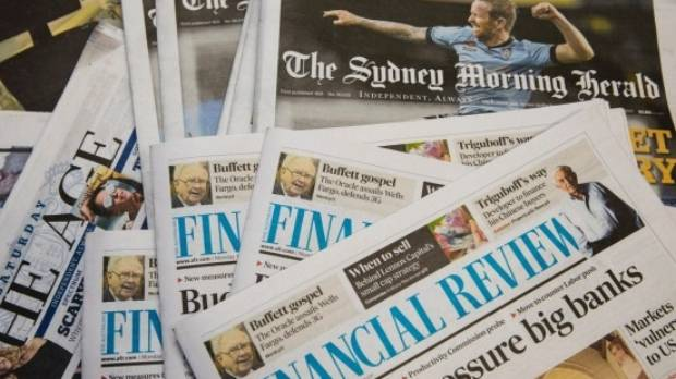 Fairfax Media owns The Sydney Morning Herald, The Age and The Australian Financial Review, as well as New Zealand assets ...