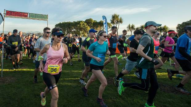 Hundreds took the challenge of from Monaco to Rabbit Island and back.