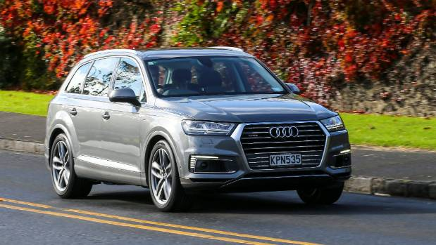 New Q7 is electric, but also unapologetically a full-size SUV, with strong performance and big towing ability.