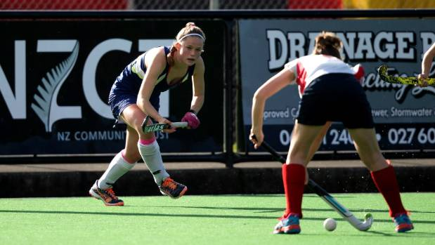 Northern United Wildcats' Holly Pearson locks down on defence.