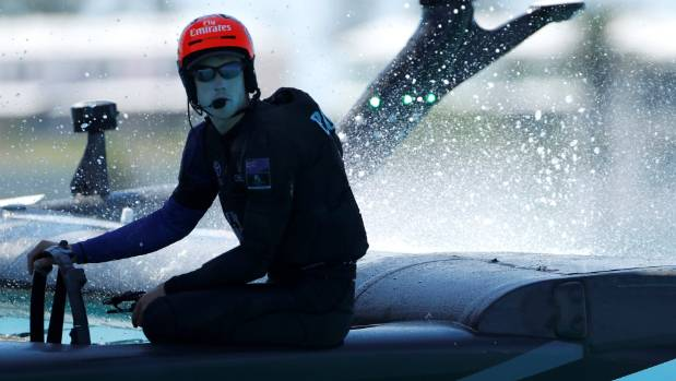Peter Burling's hot form in the starting box has had JImmy Spithill chasing shadows during the America's Cup match on ...